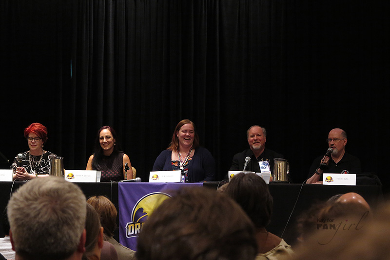 Dragon Con Star Wars Amazing Authors Panel
