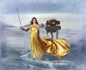 Harper's BAZAAR Star Wars fashion illustration