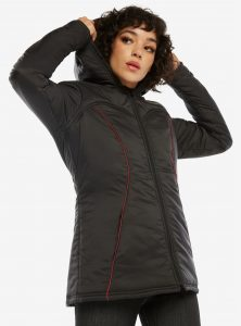 Black Widow Puffer Jacket