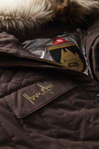 Harrison Ford Autographed Han Solo ESB Parka