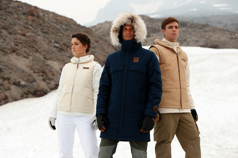 Hoth Base Star Wars Jackets from Columbia