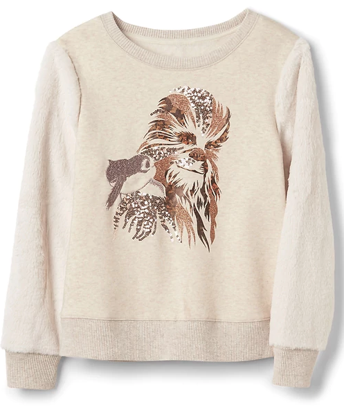 Chewie and Porg Sweater from Gap