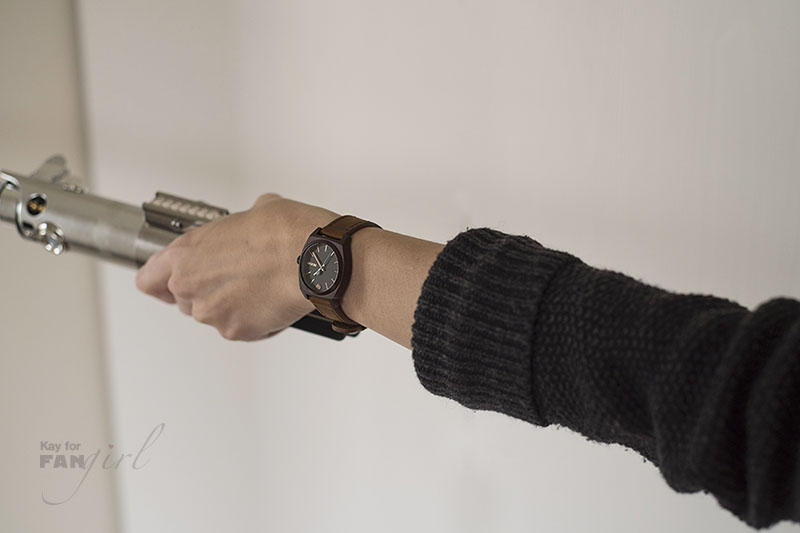 Nixon Rey Watch with a Lightsaber