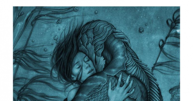 Shape of Water Reviewed on FANgirl Blog by Kay. Artwork by James Jean.