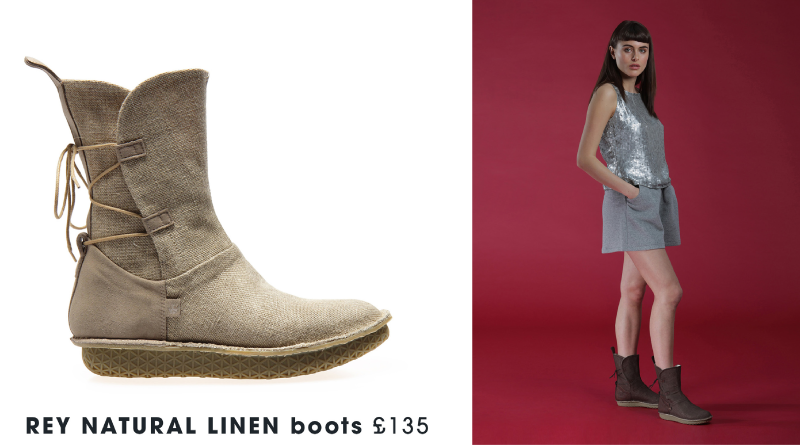 Rey Linen Boot - Po-Zu Star Wars Shoes