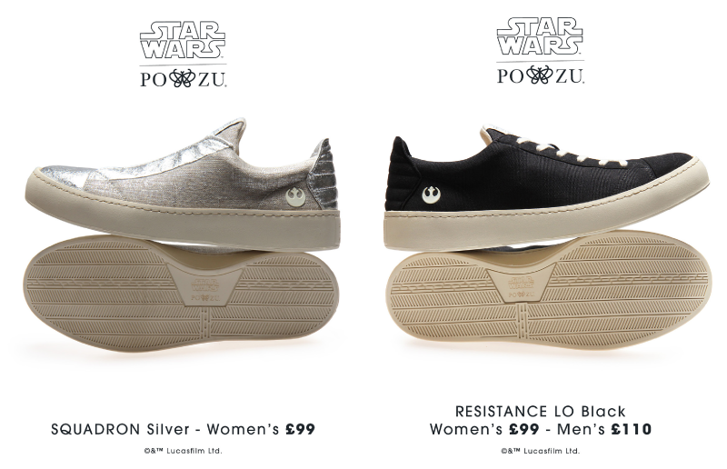 Spring Star Wars Shoes from Po-Zu for Women and Men