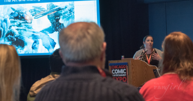 Making of and Art book panel at C2E2 featured on FANgirl Blog
