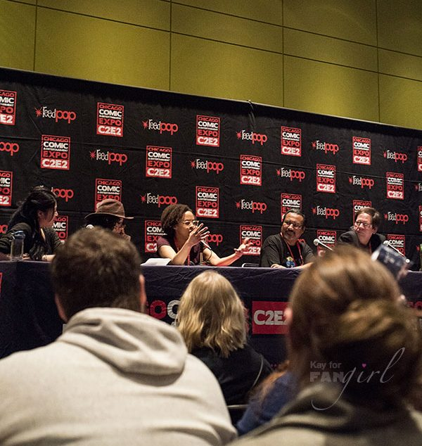 Doctor Who Panel at C2E2 2018