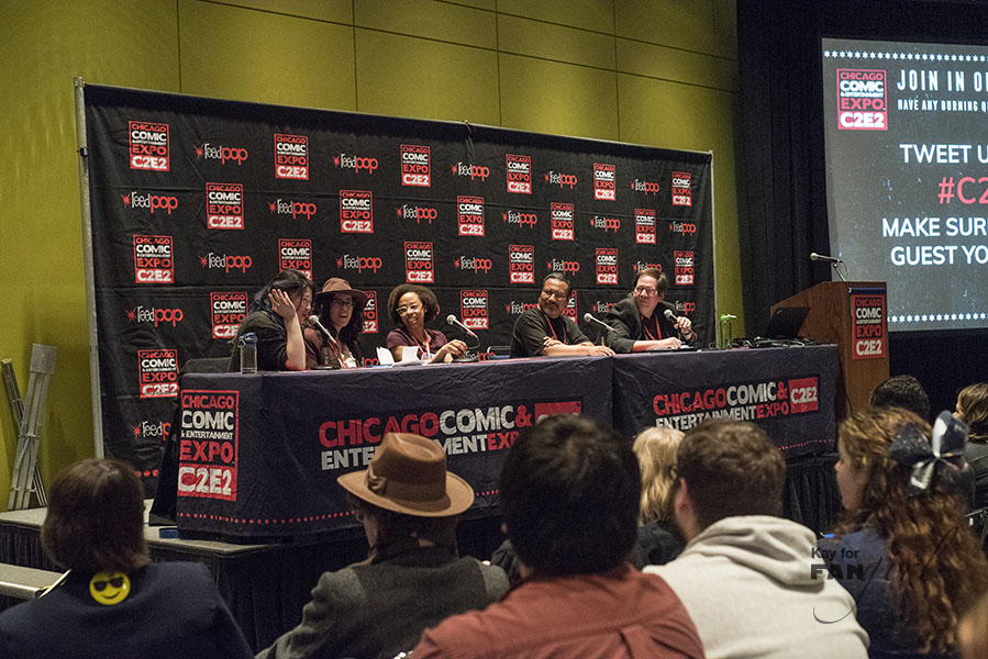 She's The Doctor Panelists at C2E2 2018