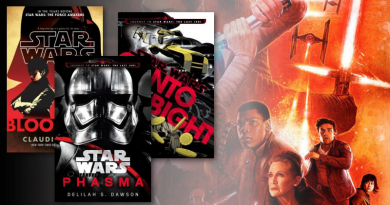 Five Books to Enrich The Last Jedi as featured on FANgirl Blog