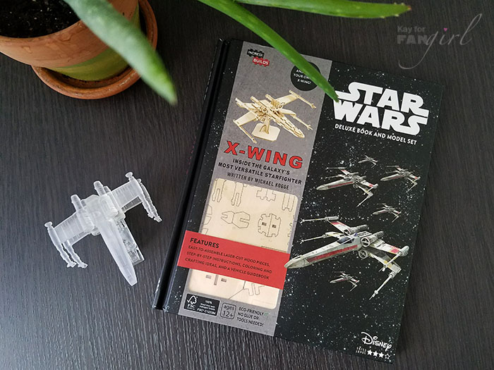 IncrediBuilds X-Wing Deluxe Kit Photo by Kay