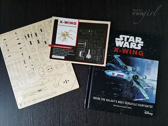 X-Wing 3D Wood Model Kit from Insight Editions