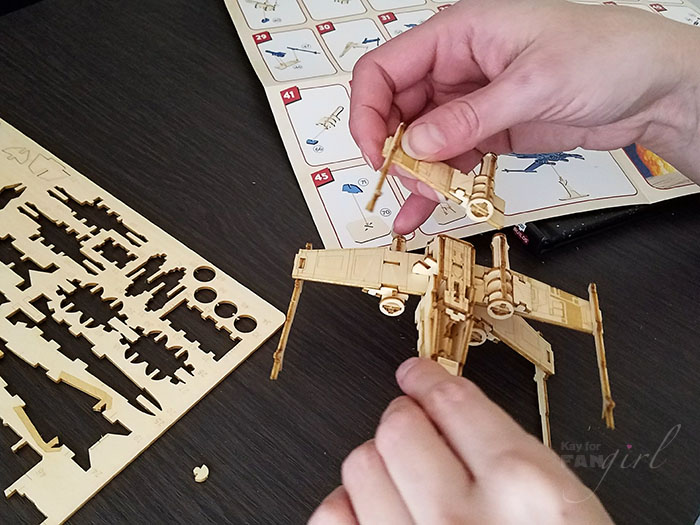 So You Want to Build an X-Wing: IncrediBuilds Star Wars