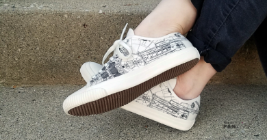 Star Wars Millennium Falcon Po-Zu Shoes Reviewed by Kay on FANgirl
