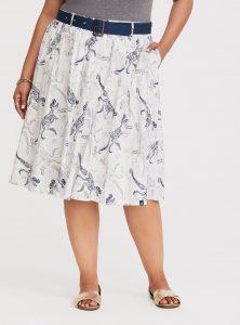 Jurassic Park Dino Print Skirt from Torrid