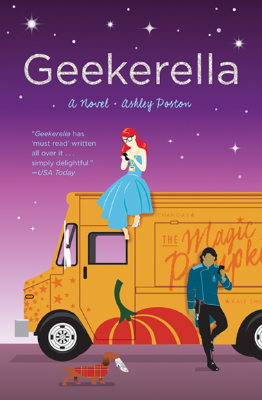Geekerella Book Cover from Quirk Books