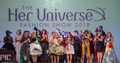 Her Universe Fashion Show 2018 on FANgirl Blog