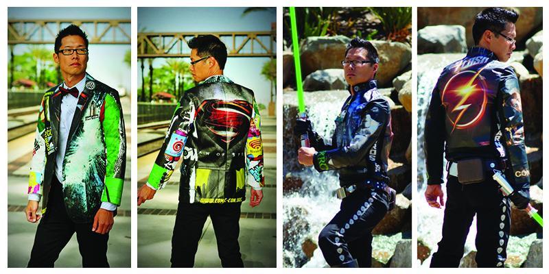 Tony Kim swag bag clothes
