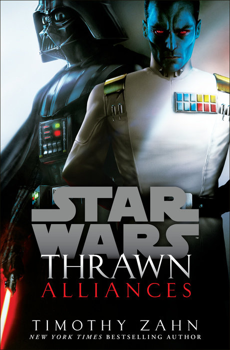 Thrawn: Alliances Star Wars Book Cover