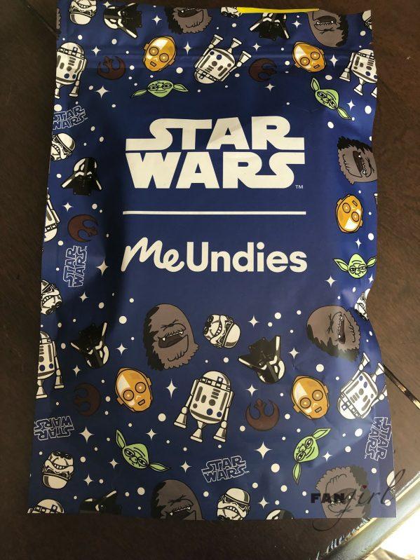 MeUndies Star Wars packaging