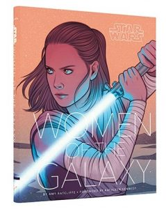 Star Wars Women of The Galaxy Book Cover
