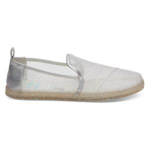 TOMS Cinderella Glitter Mesh Slippers