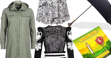 November Geek Fashion Finds Featured on FANgirl