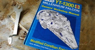 Star Wars Millennium Falcon Owner's Manual Reviewed by Kay. Photo by Kay.