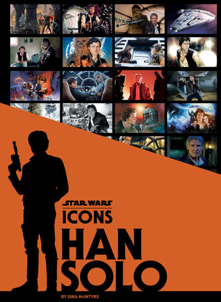 Star Wars Icons Han Solo Book Cover