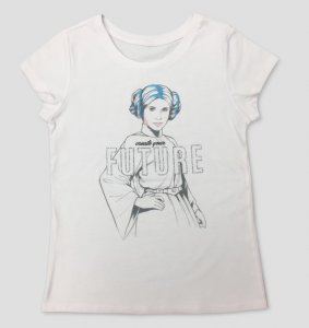 Leia Create Your Future T-Shirt from Target