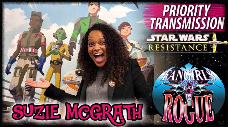 Suzie McGrath Talks Playing Tam Ryvora on Fangirls Going Rogue