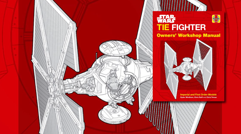 TIE Fighter Owners Manual Review on FANgirl Blog