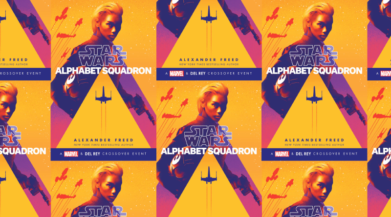 Alphabet Squadron Cover Collage for Alexander Freed Interview