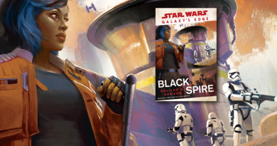 Galaxy's Edge Black Spire Novel Review on FANgirl Blog