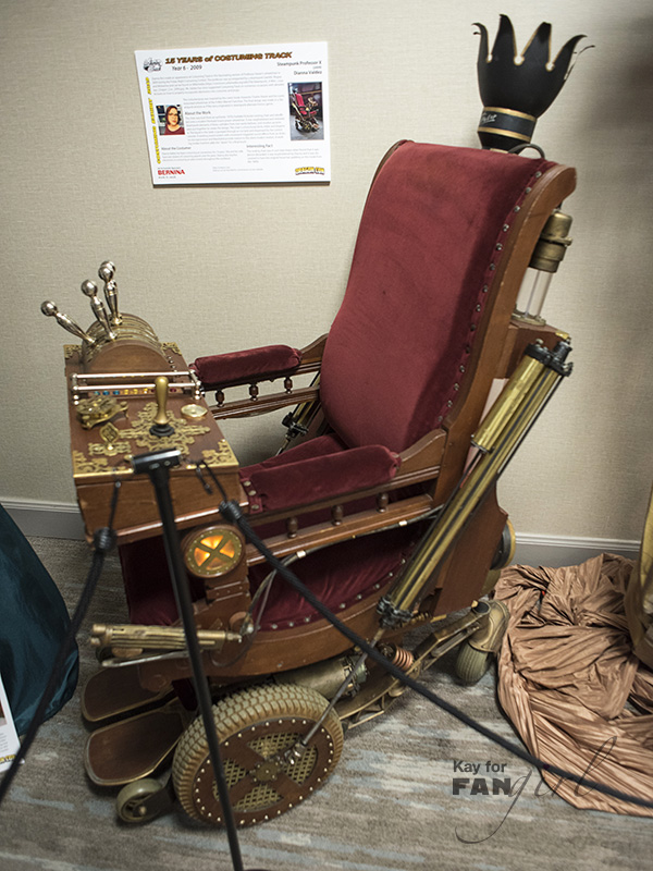 Professor X Steampunk X-Men Chair