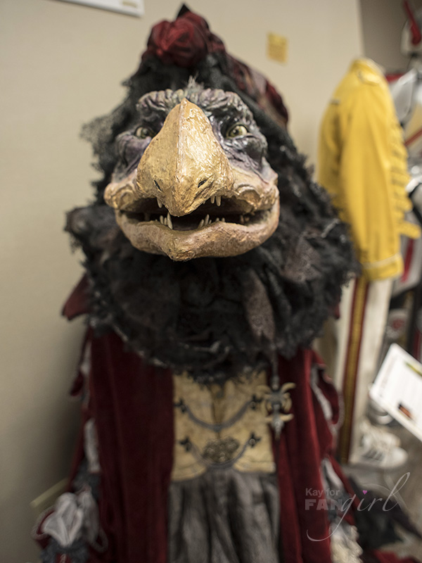 Chamberlin Skeksis Costume Recreation