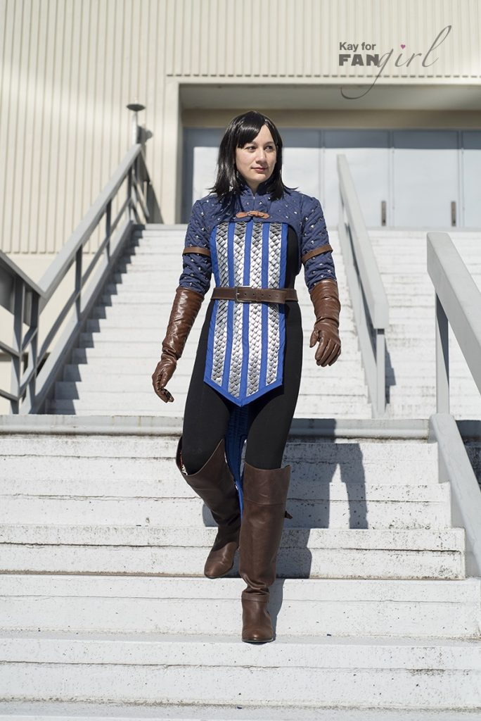 Bethany Hawke Dragon Age Costume at Dragon Con 2019. Photo by Kay.