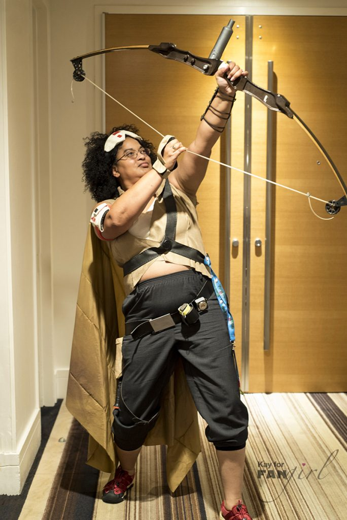 Jannah Cosplay from Star Wars Rise of Skywalker at Dragon Con 2019
