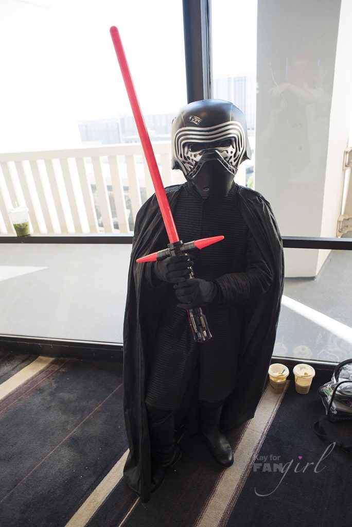 Kylo Ren Cosplay at Dragon Con 2019 photo by Kay