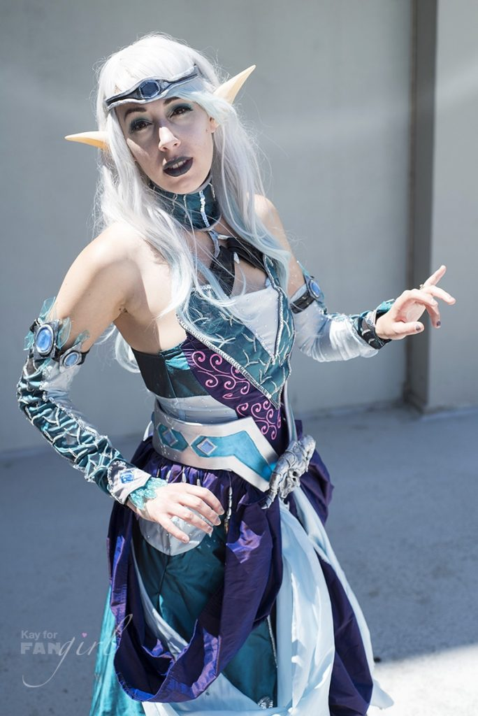 Project Ebon Blade Stellagosa at Dragon Con 2019. Photo by Kay.