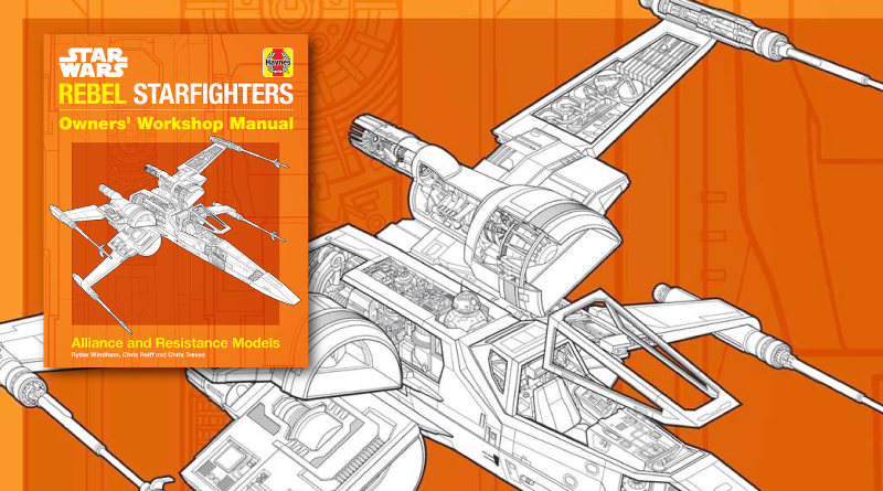 Star Wars Rebel Starfighter Owners Manual Review