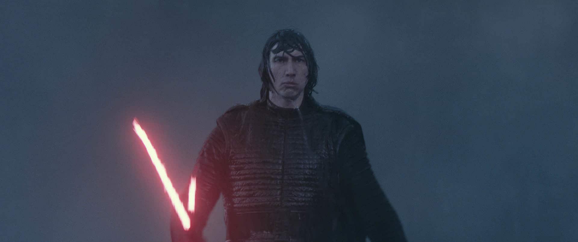 Star Wars Rise Skywalker Leader Ren Custom Action Figure  Black Series Ben Solo
