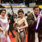 Padmé, Rey, and a Jedi at C2E2