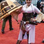 Steampunk Leia at C2E2