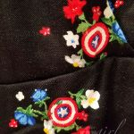 Captain America Romper Pattern by Her Universe