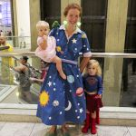 Ms Frizzle from the Magic Schoolbus and Supergirl