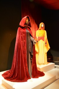 Handmaidens Burgundy Cloak and Traveling Gown