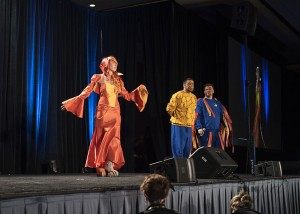 Charmander Wizard World Costume Contest 2015