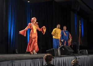 Charmander Wizard World Costume Contest 2015