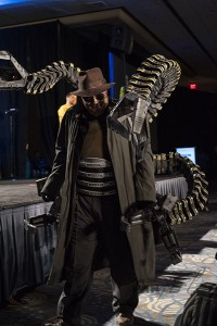 Doc Ock at Wizard World Costume Contest 2015